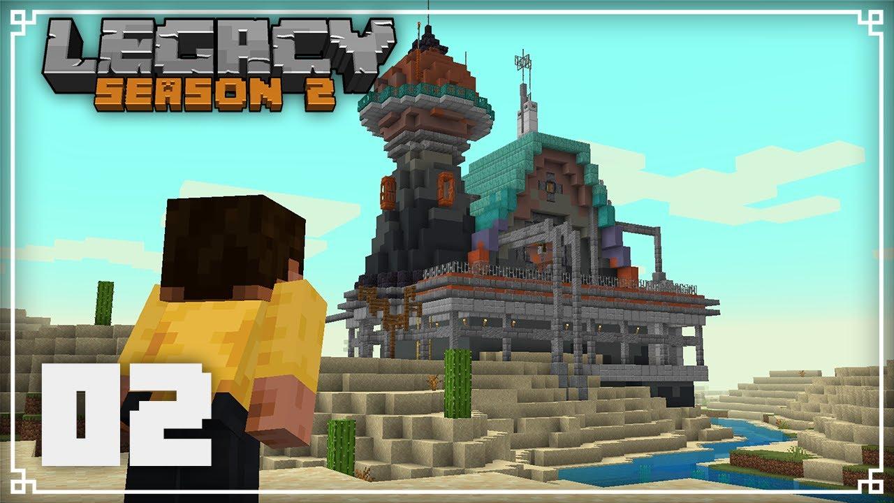 JermsyBoy - Legacy SMP 2 | Building my Starter House! |  Minecraft 1.16 Survival Multiplayer