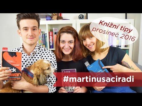 Prosincové knižní tipy: Ferrante, Taleb, Šindelka #martinusaciradi
