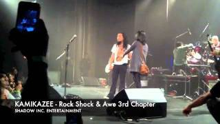 kamikazee: rock shock & awe - the 3rd chapter