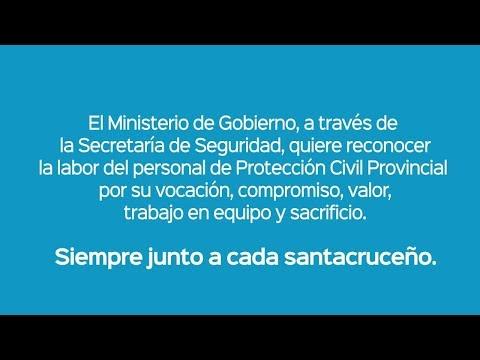 Protección Civil de la Provincia de Santa Cruz.