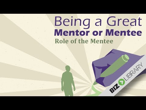 Role of the Mentee