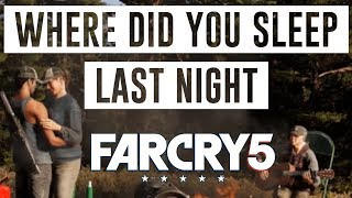 Far Cry 5 : Where Did You Sleep Last Night (with Lyrics)