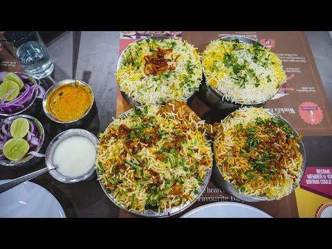 BEST BIRYANI in Hyderabad, India | Hyderabadi Indian Food Review