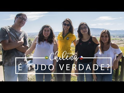 O que os Brasileiros ACHAM dos Chilenos | La Mirada Chilena 3ª temp.