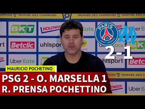 PSG 2 – OLYMPIQUE MARSELLA 1 | POCHETTINO, rueda prensa PRIMER TÍTULO | DIARIO AS