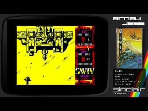 SWIV Zx Spectrum by Storm Soft.