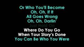Steve Aoki & Louis Tomlinson  Just Hold On lyrics Karaoke