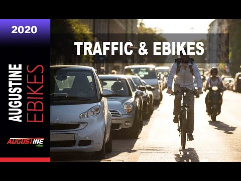 E bikes 2020: Riding Ebikes in Traffic and why they are SAFER than conventional Bikes