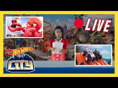 🔴 LIVE from Hot Wheels City! | Hot Wheels