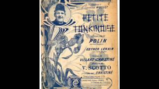 "Karl Ditan chante ""Petite Tonkinoise"""