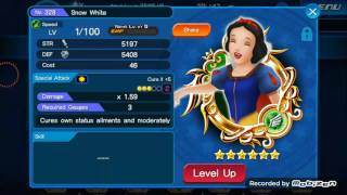 Kingdom Hearts Unchained X - Snow white and the 7 dwarves event Snow white Medal