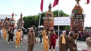 Salé célèbre le traditionnel moussem des cierges