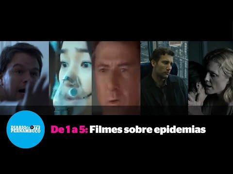 De 1 a 5: Filmes sobre epidemias