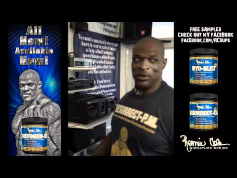 Ronnie Coleman: Huge Home Gym!!!