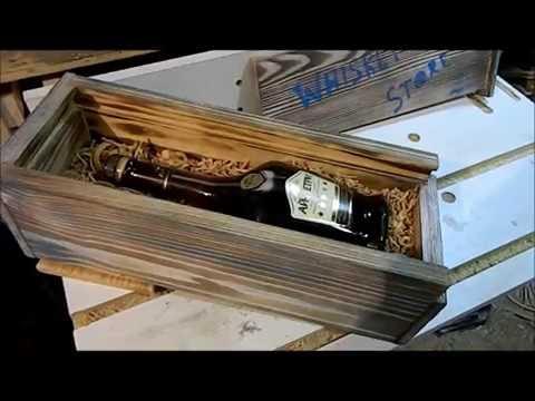 Столярка. Делаем короб из дерева для алкоголя своими руками за час. Столярка ANB Wood photo