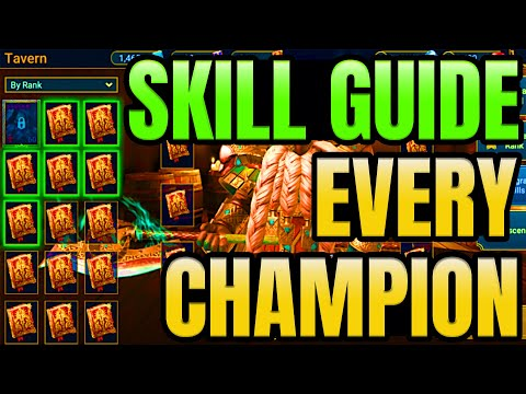 Skill Up Guide for Every Champion I Raid Shadow Legends