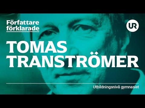 Tomas Tranströmer förklarad | SVENSKA | Gymnasienivå