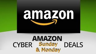 Best Cyber Monday Deals on Amazon - Starts TODAY