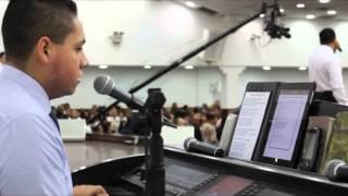 Milton Cardoso com Bispo Guaracy Santos. Ele Não Desiste de você