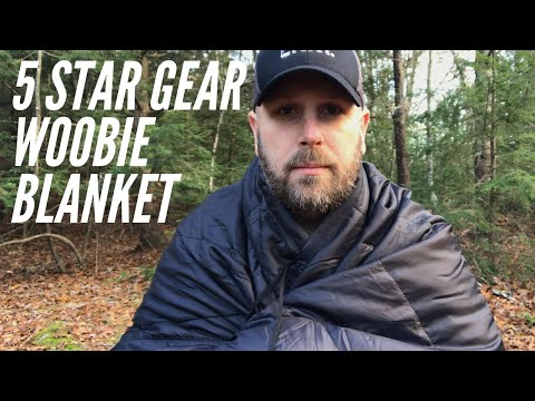 5 Star Gear Woobie Sleeping Bag, Blanket, and Poncho Liner | Light-weight Warmth For Woods, Car