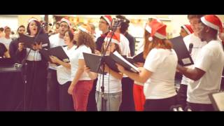 Pentatonix Cover - Angels we have heard on high por Vocal Livre