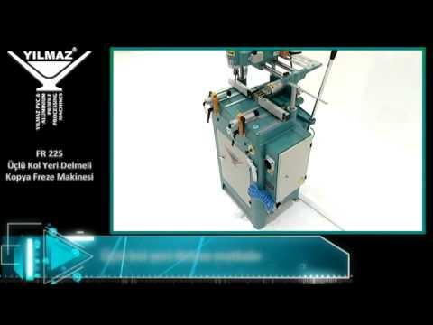FR 225 | Üçlü Kol Yeri Delmeli Kopya Freze Makinesi