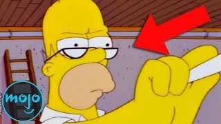 Top 10 Amazing Small Details in The Simpsons