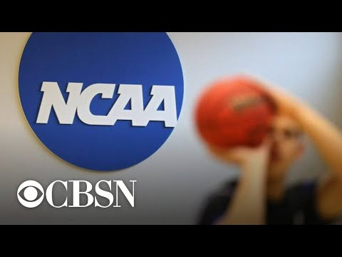 NCAA considers rule change to allow student-athletes to profit off themselves