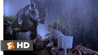Jurassic Park (4/10) Movie CLIP - Tyrannosaurus Rex (1993) HD