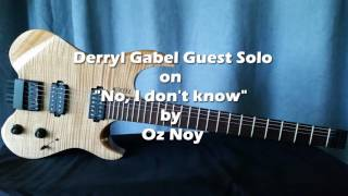 Mike Stern Frank Gambale style DG Guest Solo on NIDK