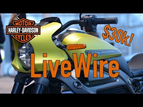 Let's talk about the new Harley-Davidson electric motorcycles