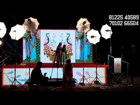 LED Digital Wedding Marriage Reception Stage Decoration Chennai, Pondicherry, Bangalore India +91 81225 40589