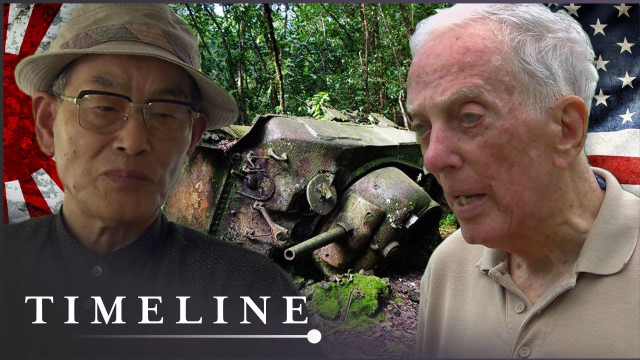 WW2 American & Japanese Veterans Meet Where They Once Fought | Once Were Enemies