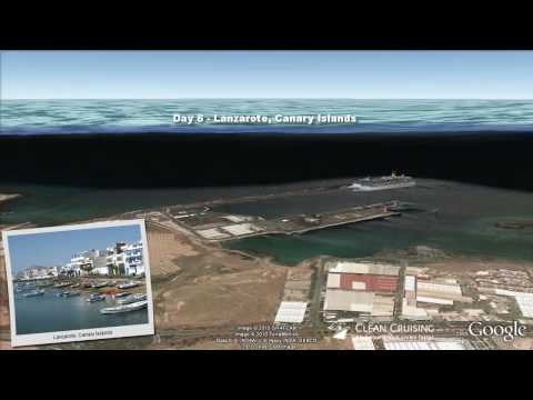"Costa Mediterranea video ""11 nt Spain, Morocco, Portugal Cruise "" ex Savona"