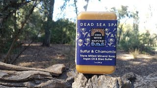 One with Nature , dead sea spa sulfur and chamomile