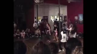 """Big will Simmons , Taylor Hatala, """"never be like you """" Janelle Ginestra choreography"""