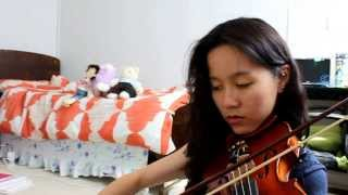 """I see the light- """" Tangled"""" (violin cover)"""