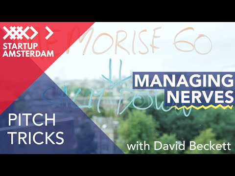 Pitch tricks #6 How to Manage Your Nerves - David Beckett - Amsterdam Capital Week Prep photo