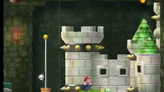 Mario Jungle Trouble Flash Stage-4