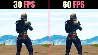 30 FPS vs. 60 FPS (Test in 6 Games)