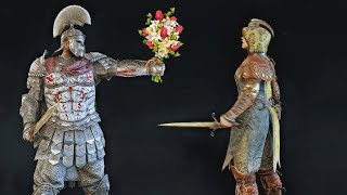 For Honor being romantic