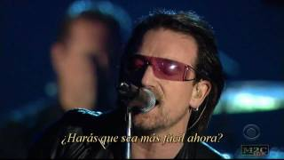 U2 And Mary J Blige - One (live subtitulos en español)