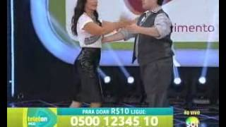 Teleton 2013 - Tiago Abravanel dança com Ivete Sangalo a pedido de Silvio