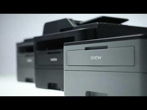 Sort/hvid laserprinter serie