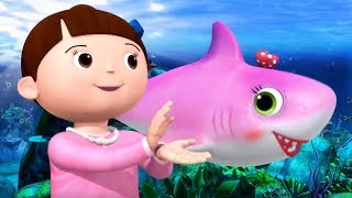 Wheels on The Bus Underwater | Baby Songs | +More Nursery Rhymes | Little Baby Bum