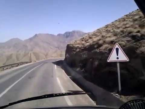 Ourtour drive a motorhome over the Tizi-n-Tichka to Marrakech, Morocco