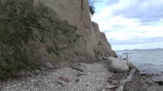 Spacer po plaży w okolicach Klifu w Gdyni