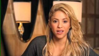 Il messaggio di Shakira per i fan italiani! - A day with Shakira, il 1° dicembre al cinema