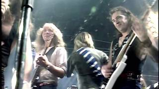 """Iron Maiden - Wasted Years - Amusing TV """"Performance"""" 1986 [50fps]"""