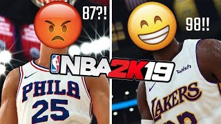NBA Players React to Their NBA 2K19 Ratings (Part 1)